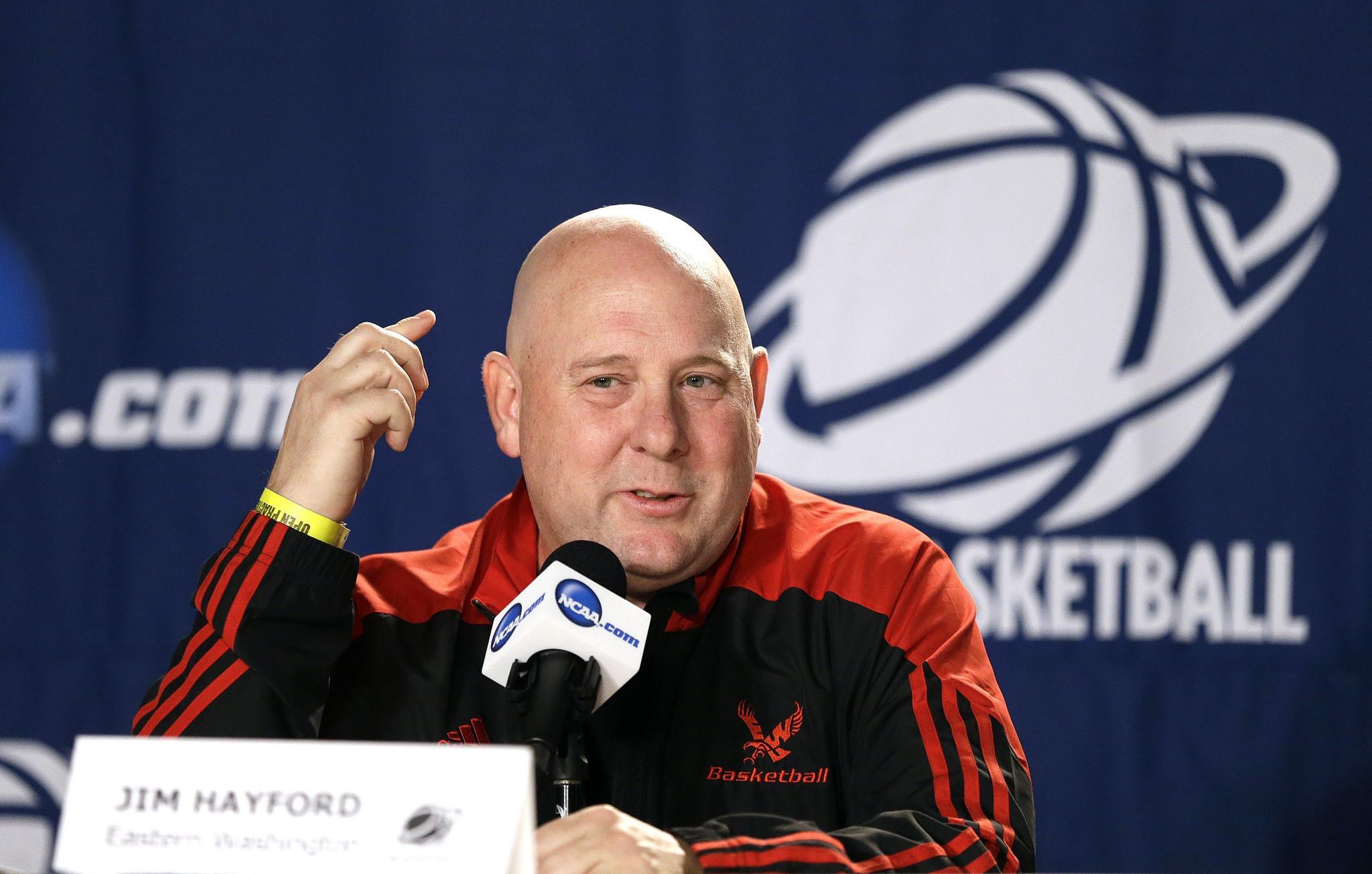 No. 13 seed Eastern Washington coach predicts upset of No. 4 Georgetown