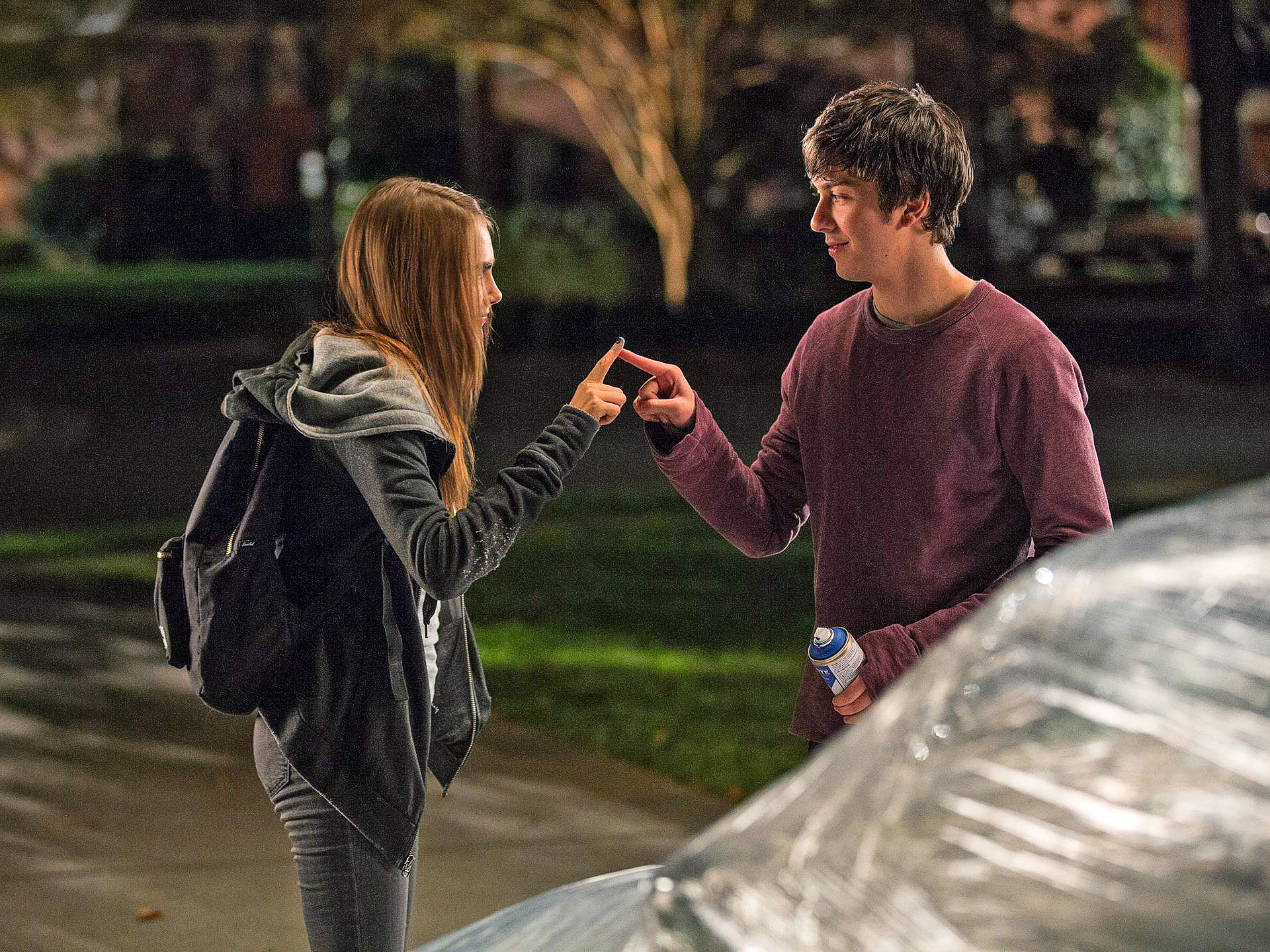 'Paper Towns' trailer: Cara Delevingne is Nat Wolff's 'miracle'
