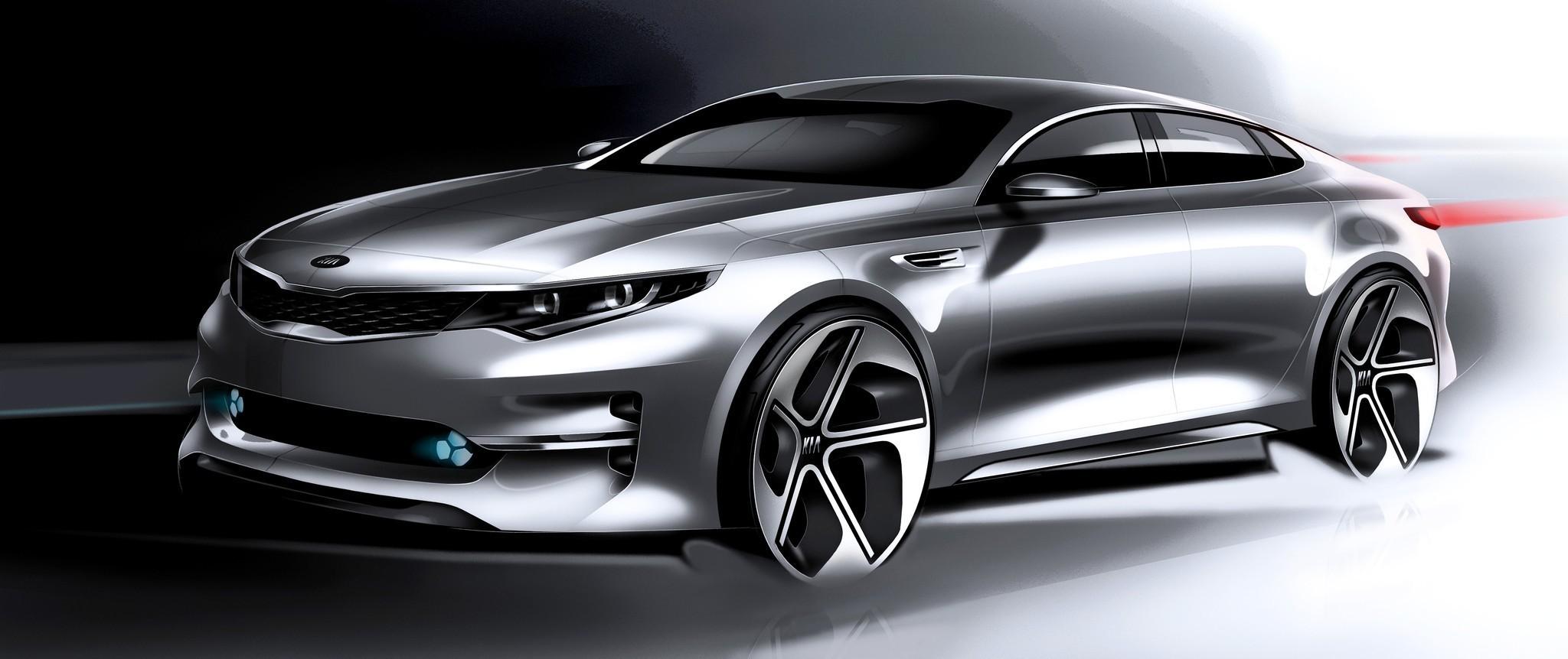 New York Auto Show: Kia's new Optima sedan to debut