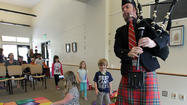 Library hosts event offering a lesson in Scottish culture, bagpipe performance