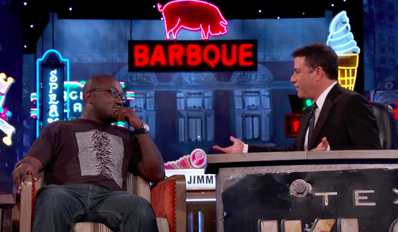 Hannibal Buress tells Jimmy Kimmel about post-Cosby fallout
