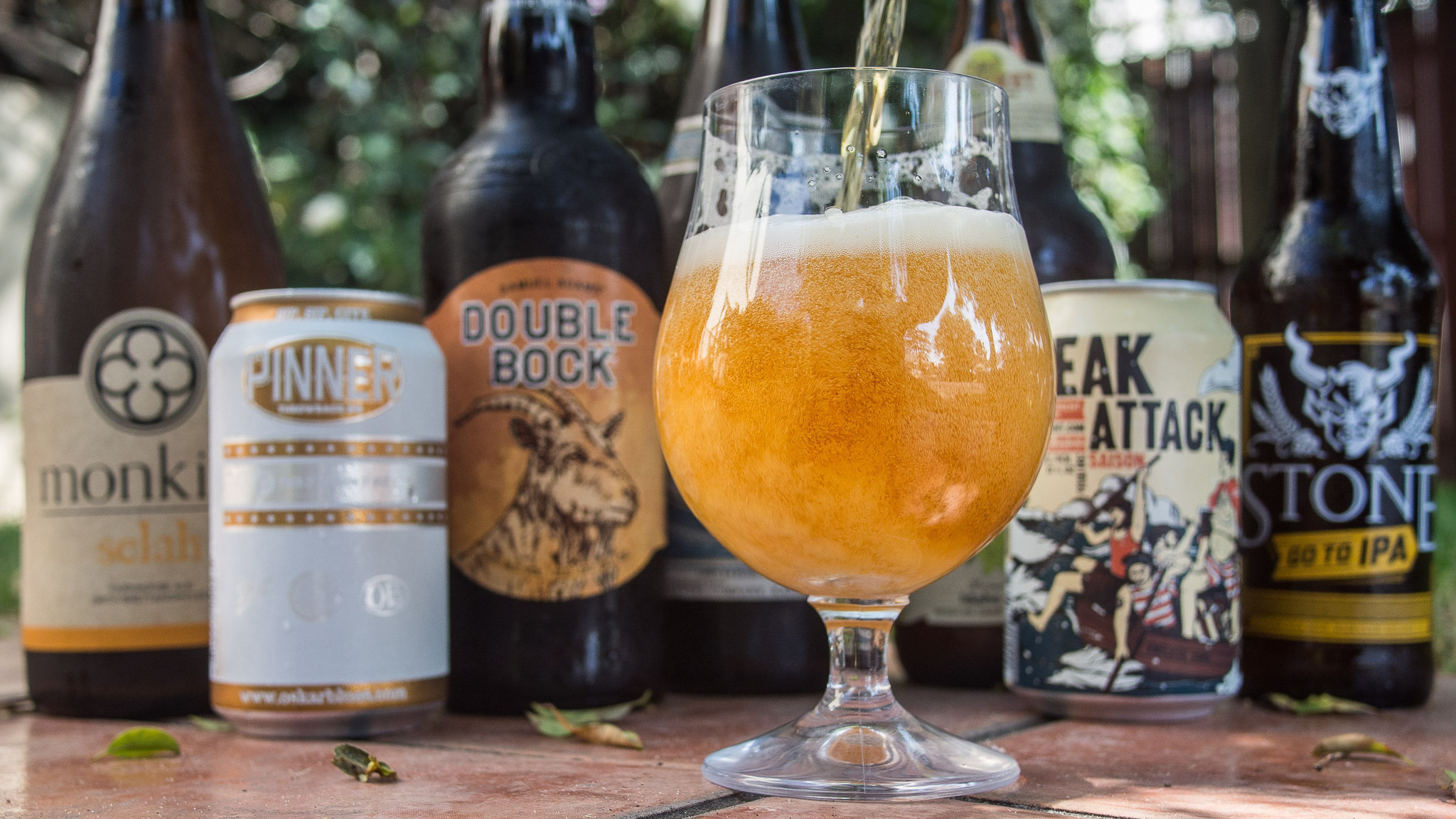 Three great styles of beer to toast the spring