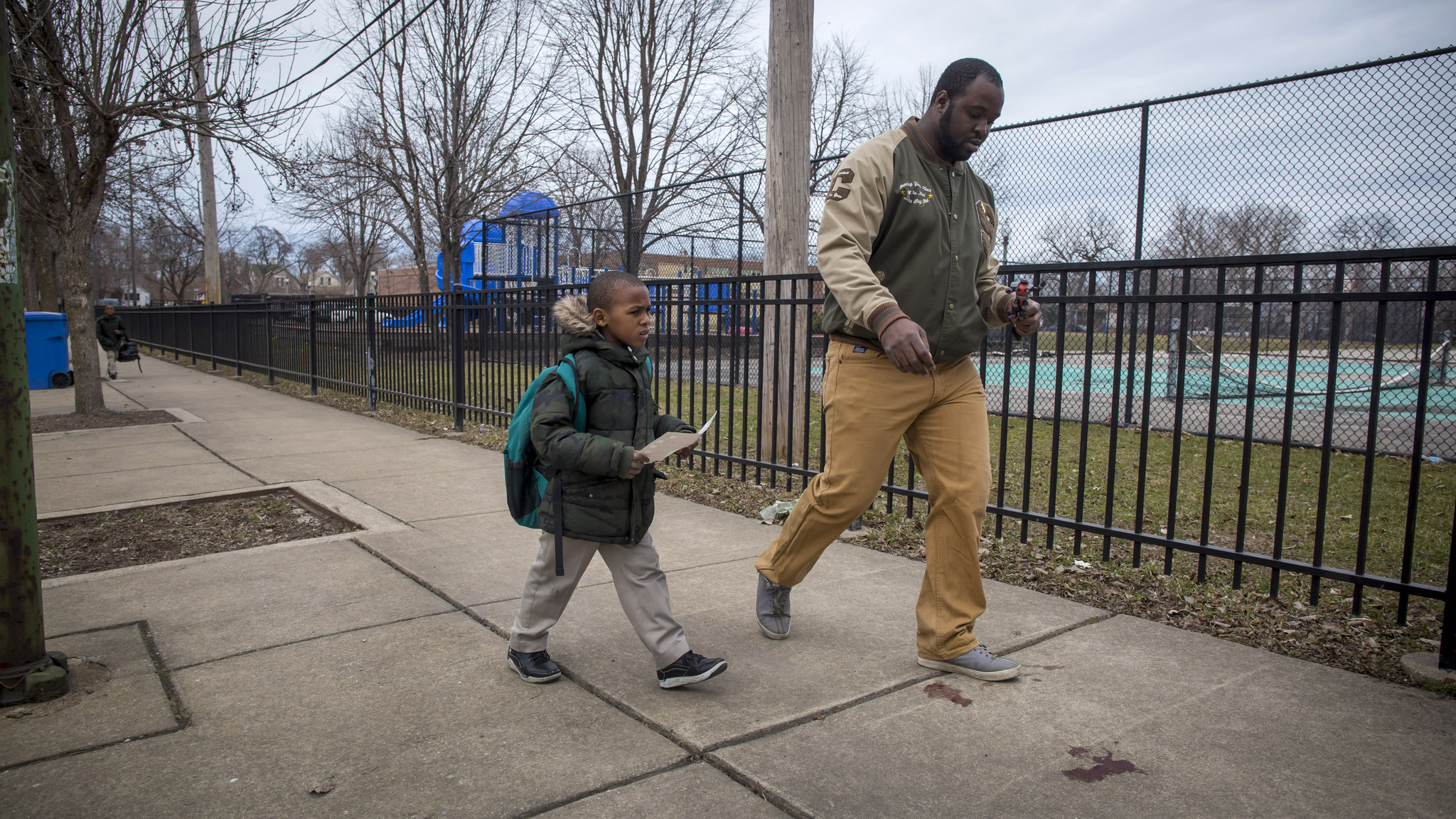 Home people men a sad young man walking home from work -  Christopher Charles Weaver Home From Westcott Elementary School After The 3 45 P M Final Bell Thursday The 5 Year Old Boy Skipped Ahead Leaping Over
