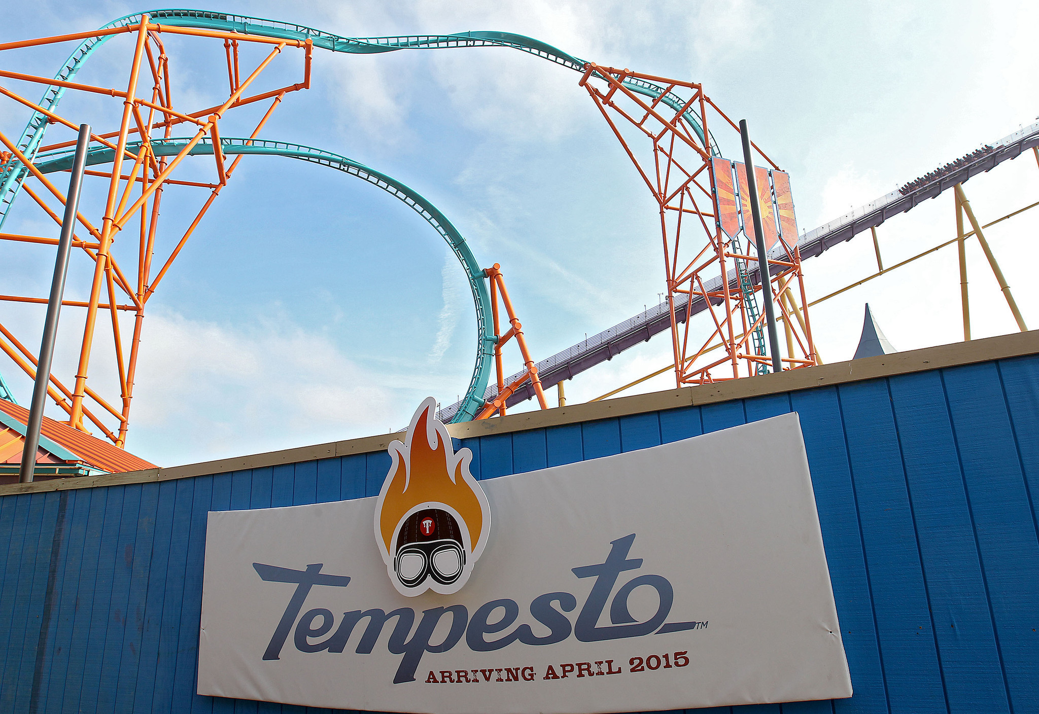 Busch Gardens 39 Newest Coaster Tempesto Opens Saturday Daily Press