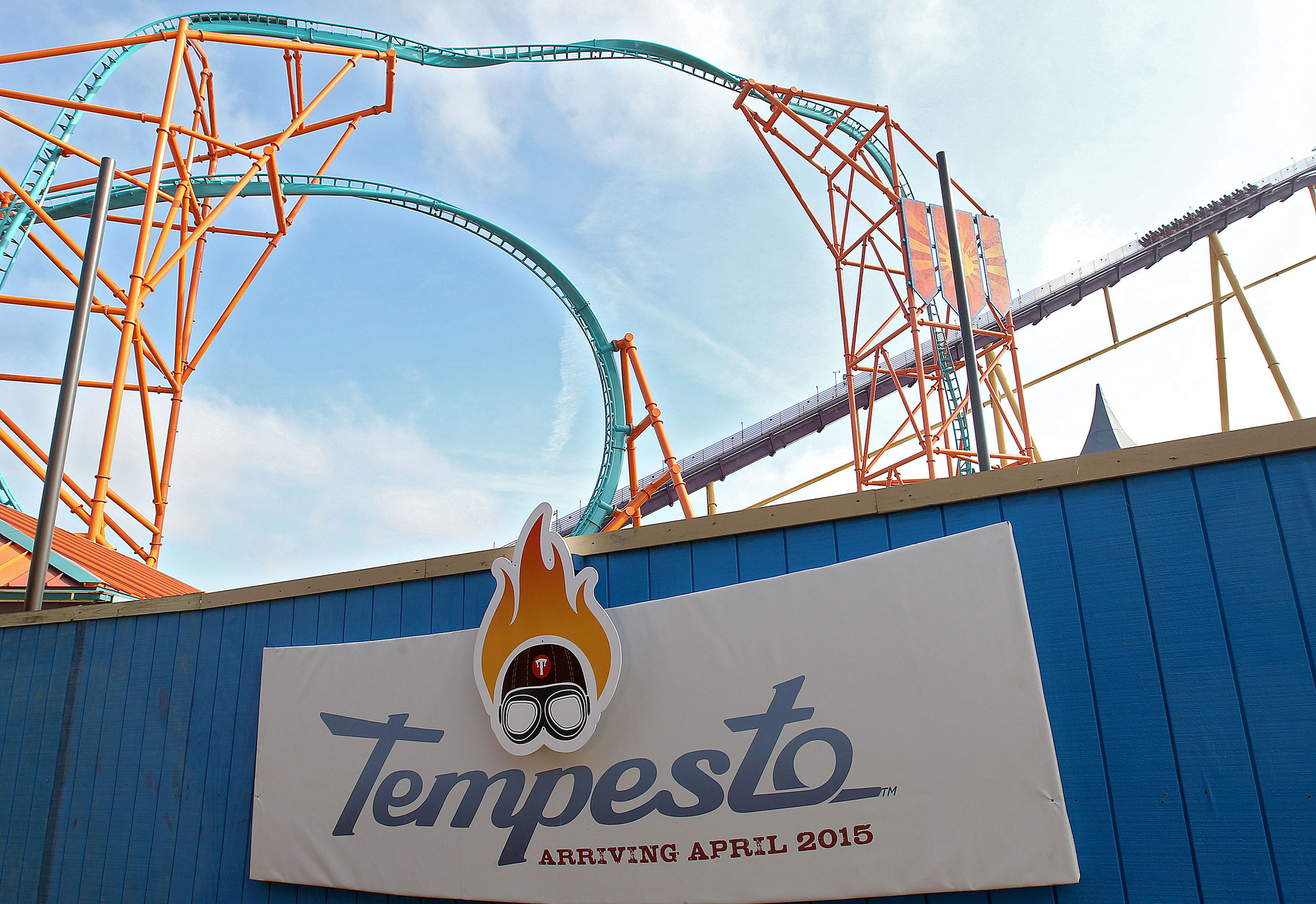 Roller coasters of the virginia peninsula capital gazette for New rollercoaster at busch gardens