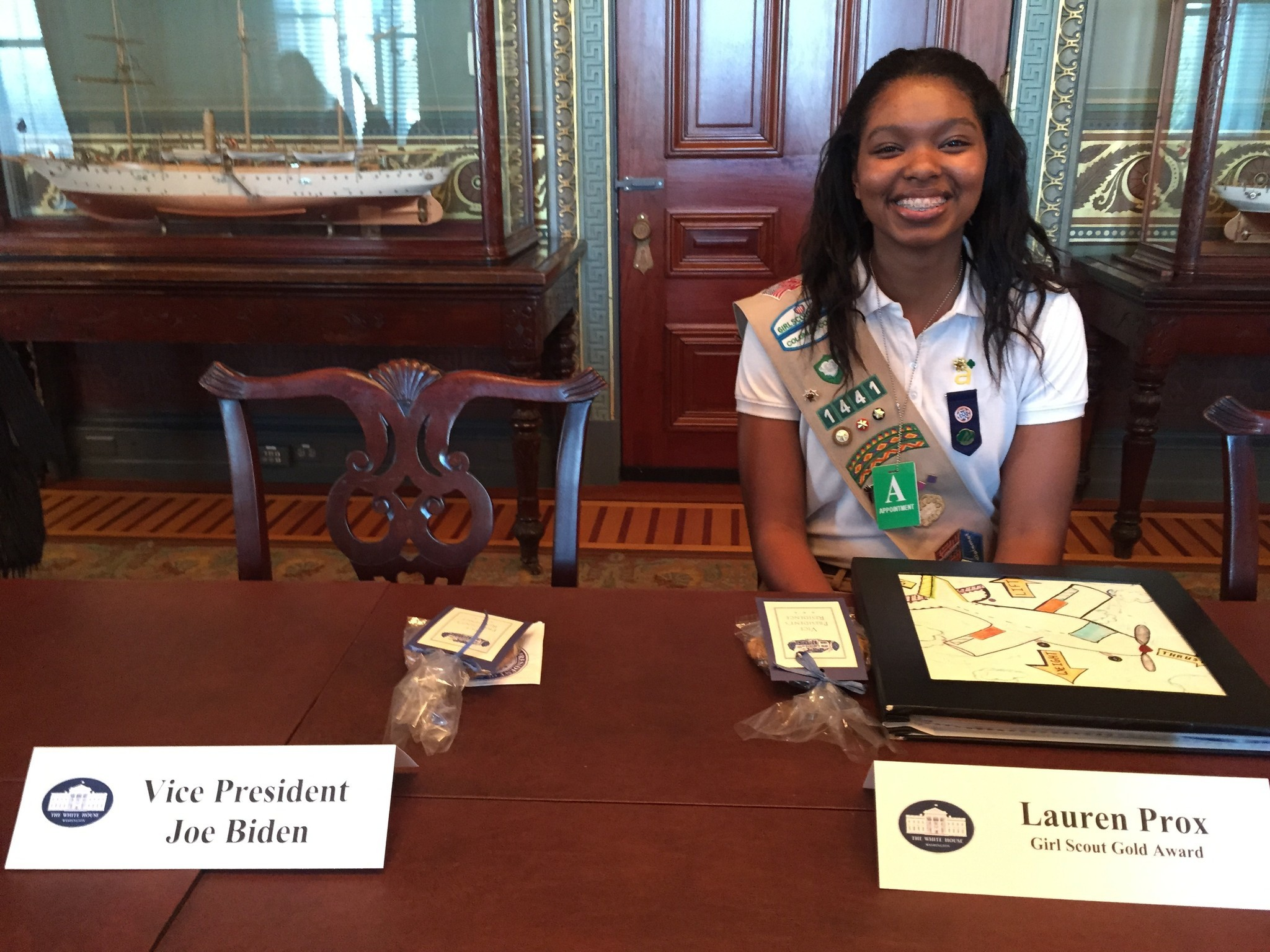 newport news girl scout attends white house science fair daily press