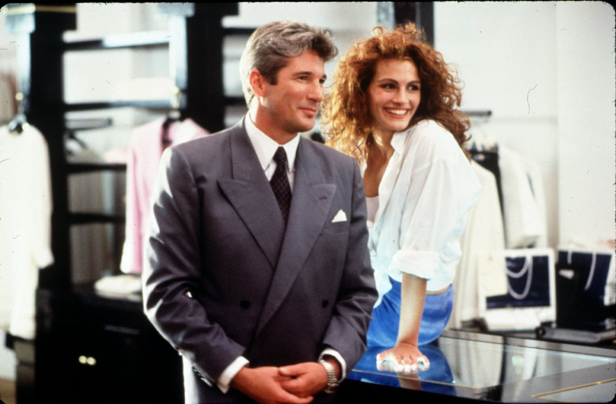 Image result for Richard Gere and Julia Roberts in Pretty Woman