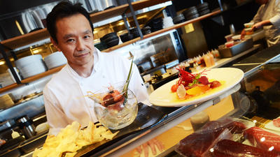 Azumi delivers inventive and beautiful Japanese cuisine, but it's not without missteps