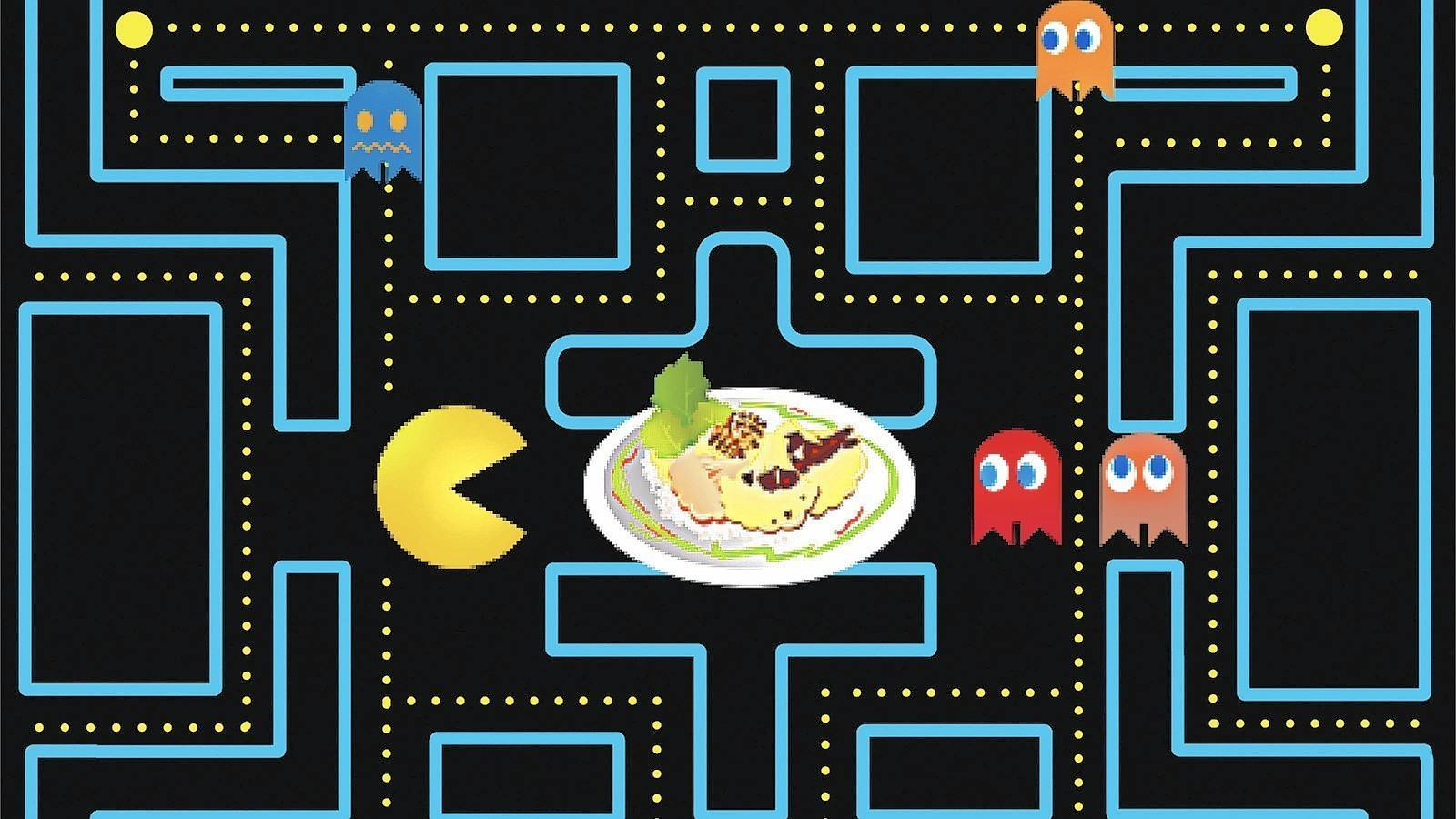 Image result for dave and busters pac man