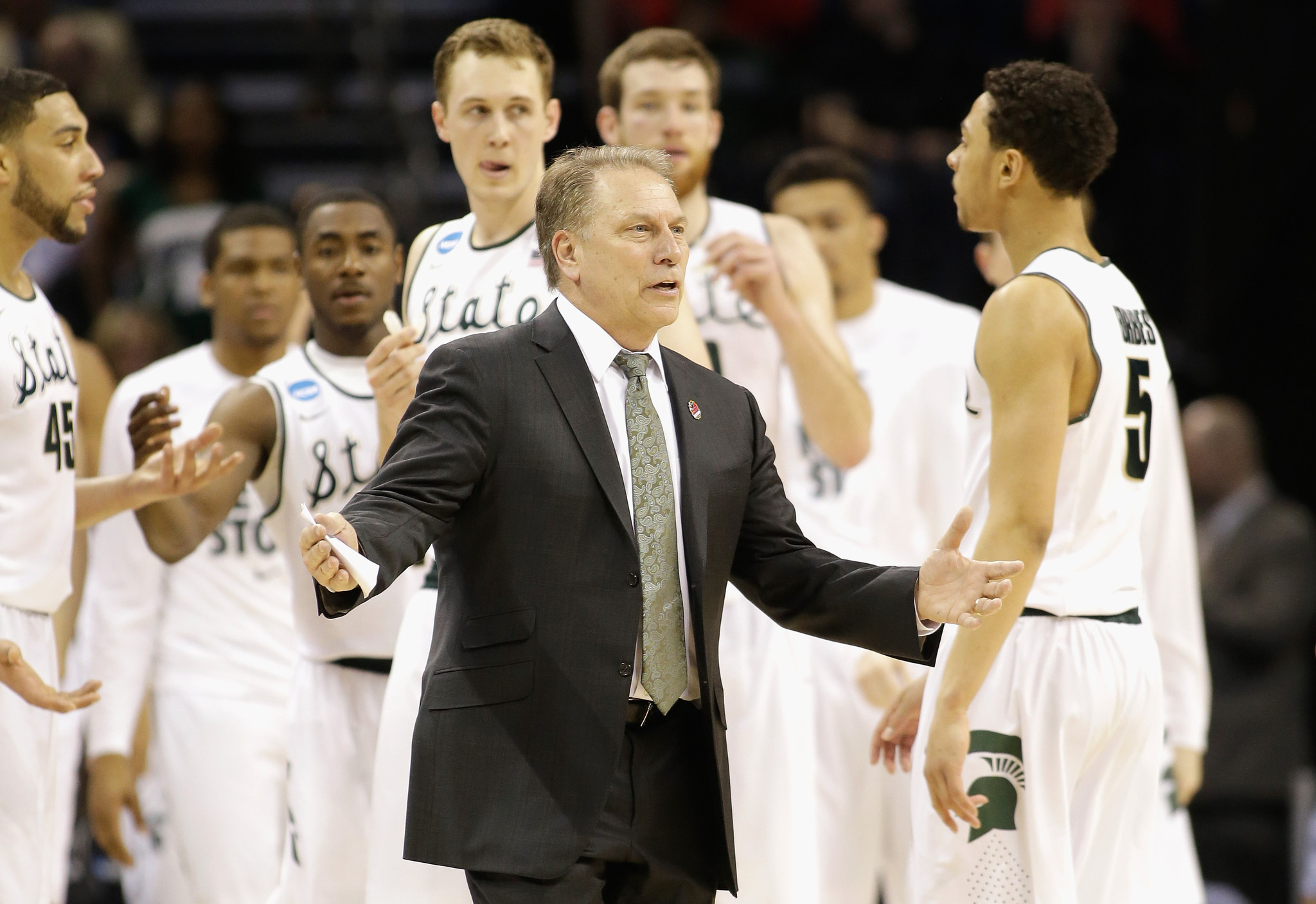 Column: NCAA tournament a showdown of coaches: Calipari, Izzo, Pitino et al.
