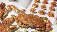 Dig into Cajun-inspired seafood at The Angry Crab