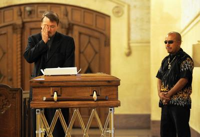 Funeral for Luis Angel Garcia in 2007