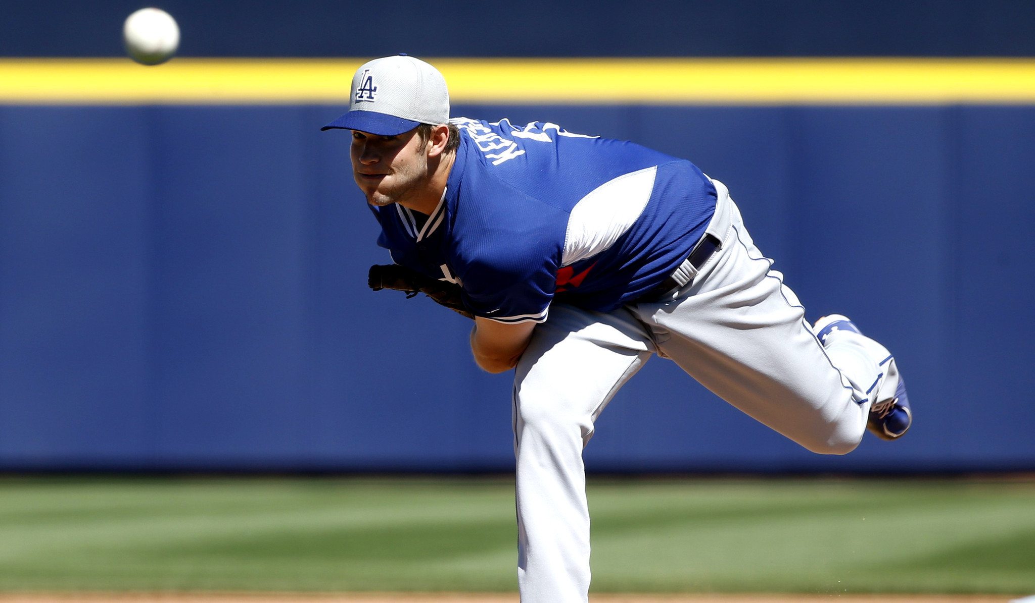 Dodgers ace Clayton Kershaw looks ready for opening day