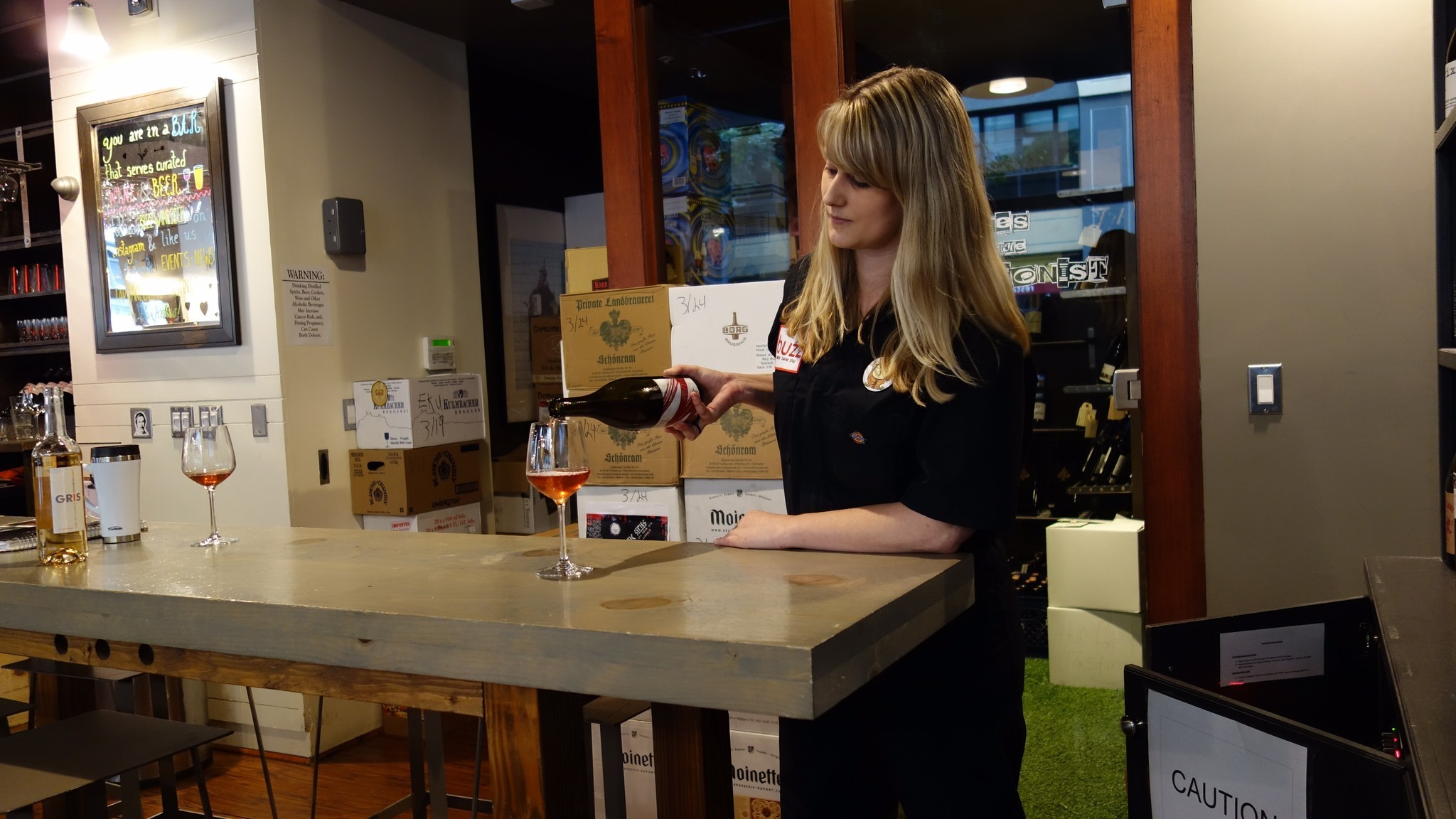 Downtown wine buyer's tips for getting buzzed, at Buzz