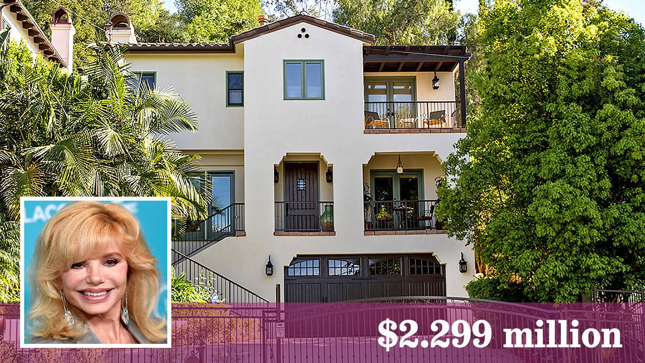 Loni Anderson's custom home for sale in Sherman Oaks - LA ...