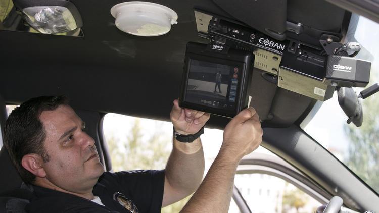 LAPD patrol car cameras