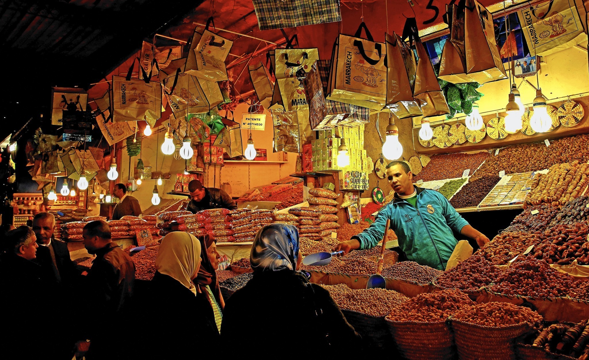 Marrakech souks entice, but be prepared to haggle