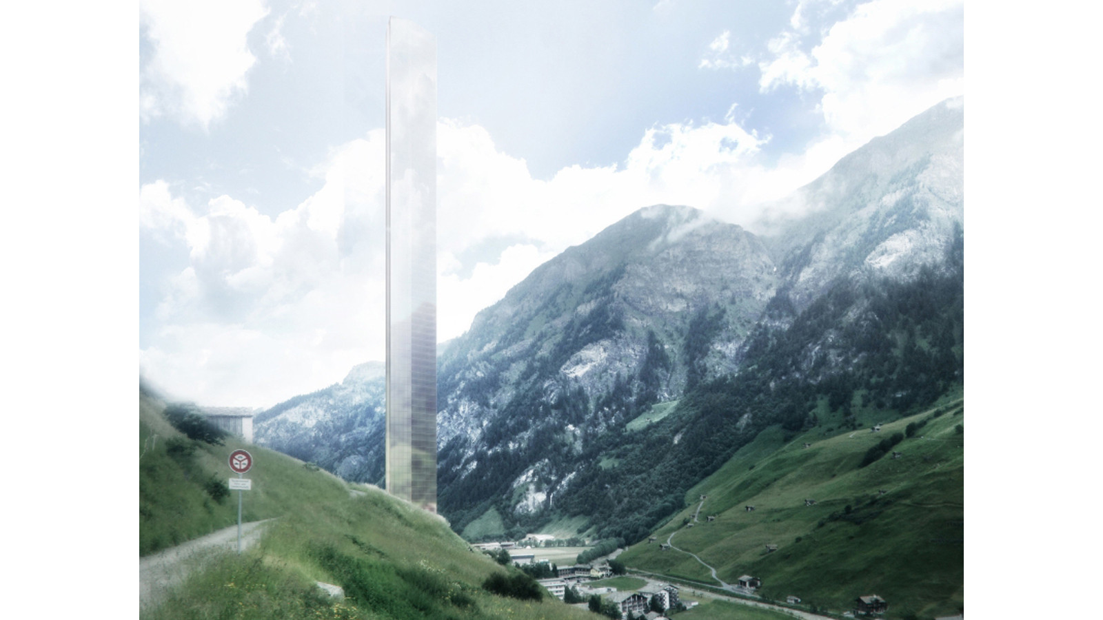 An 39 obnoxious gesture 39 l a architect thom mayne 39 s tower for Design hotels alps