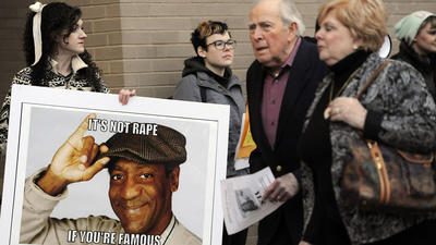 Protesters, comedy fans clash at Bill Cosby's Baltimore performance