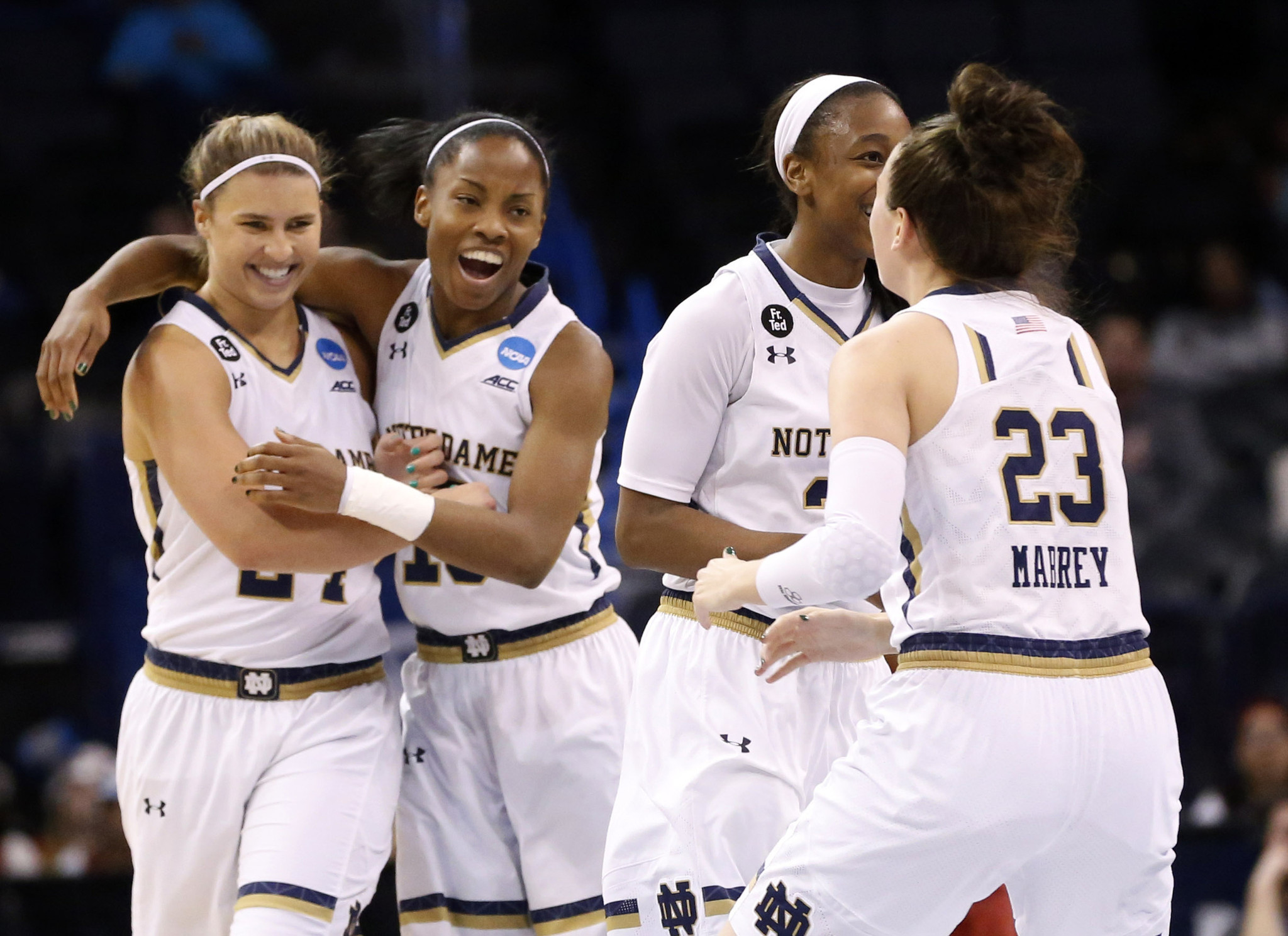 Notre Dame women finally beat Stanford, head to NCAA Elite 8