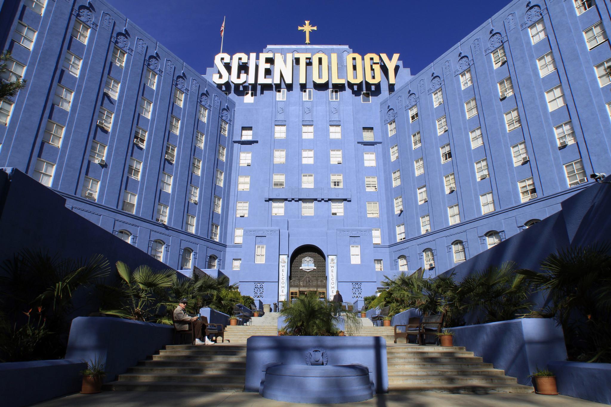 Scientology celebrity center brunch food