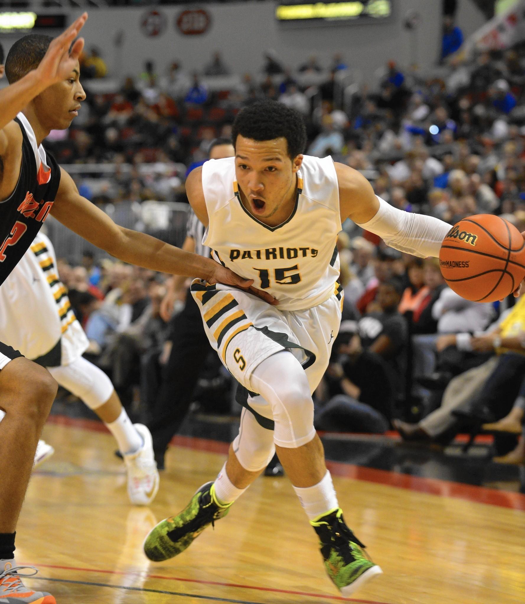 Stevenson's Jalen Brunson makes All-Area Boys Basketball ...