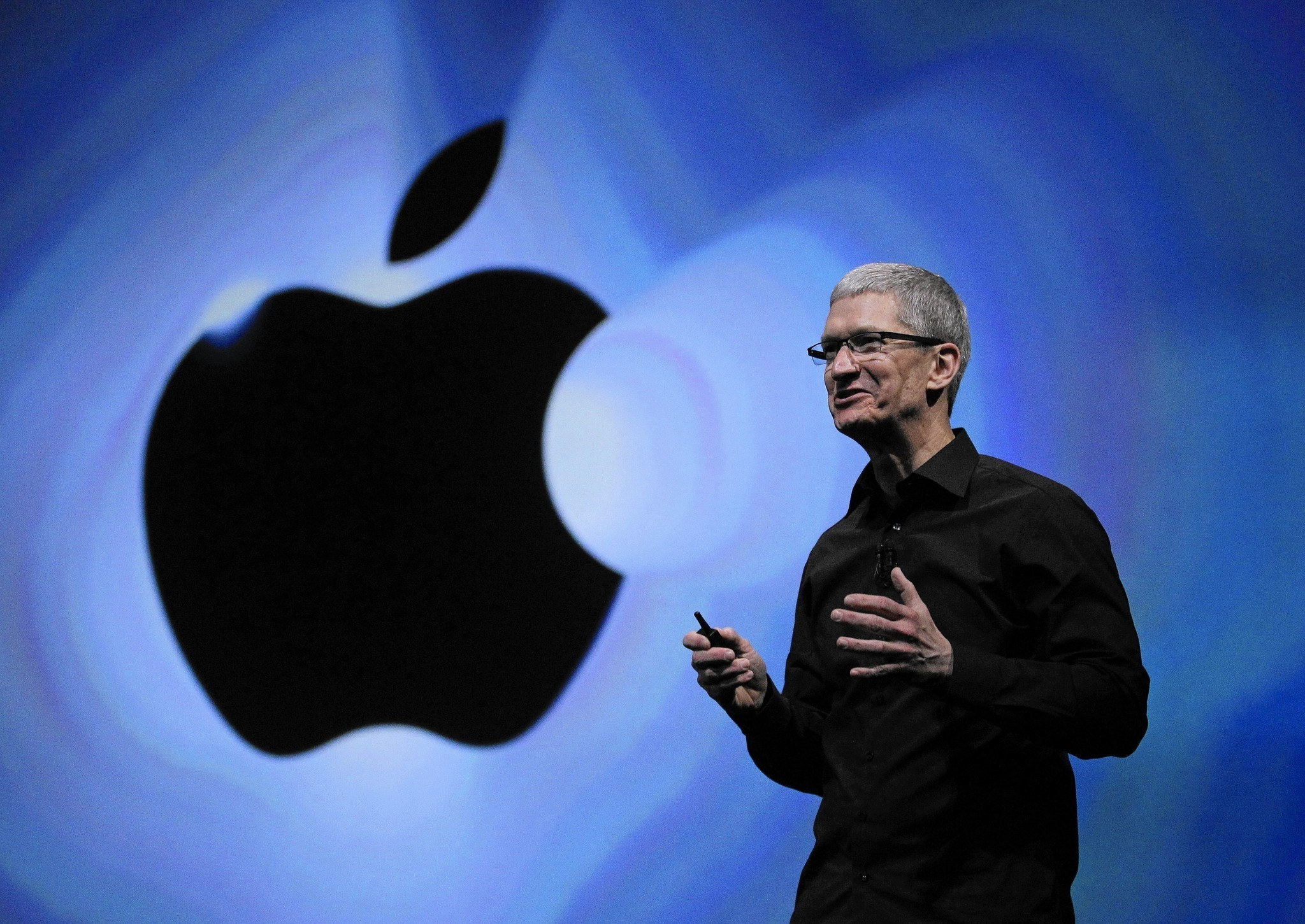 Apple CEO Tim Cook is forging