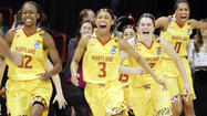 Maryland women beat Tennessee, 58-48, advance to Final Four