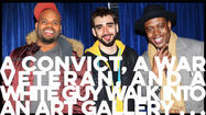 A convict, a war veteran, and a white guy walk into an art gallery: A conversation with Dark Mark, Ivan Martin, and Chris Colletti