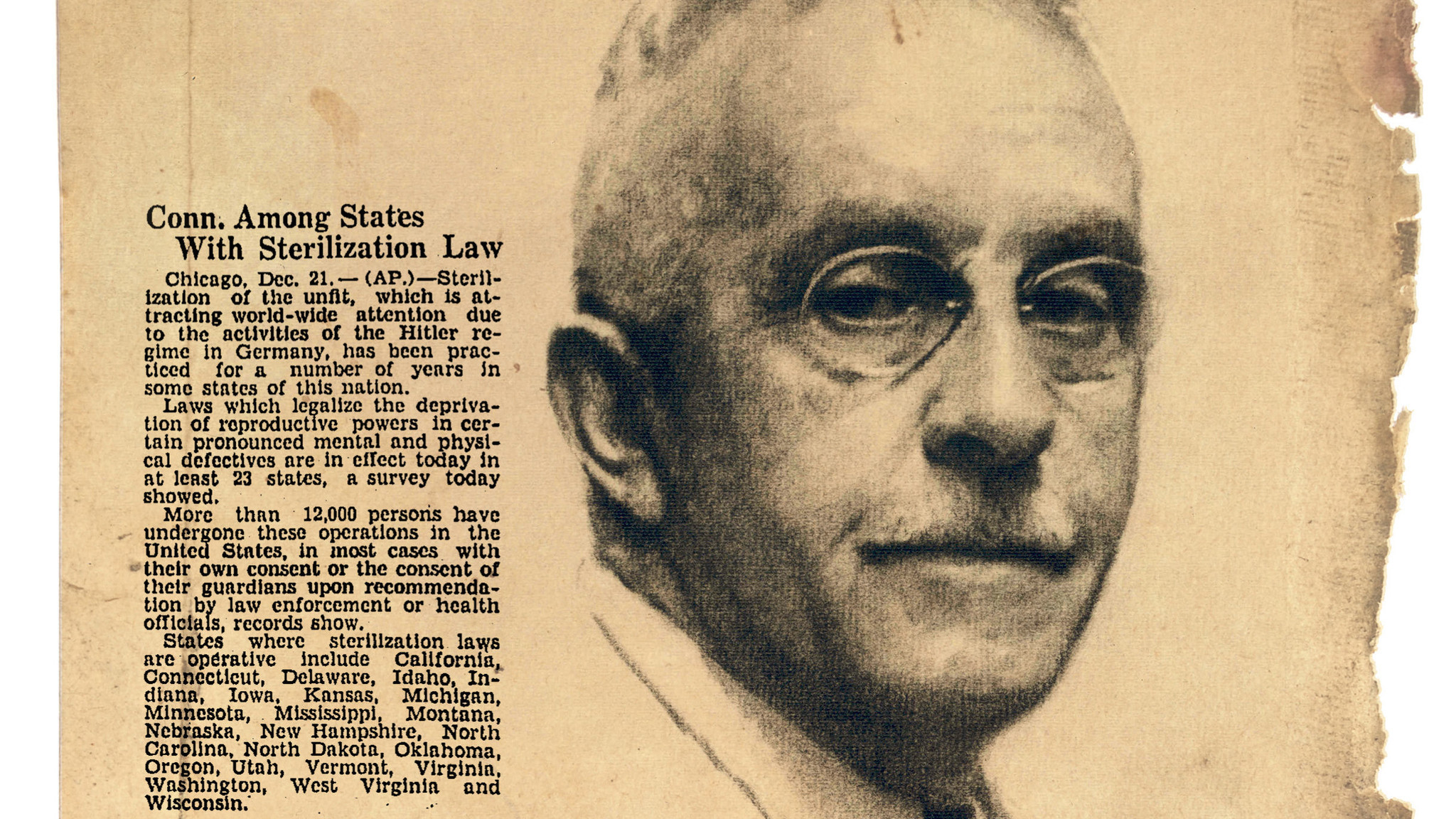 Page 63 Of The 1938 Survey's Final Report Stated That The Eugenic Mission Would €�determine The Racial Descent Of The Present Population Of  The State With