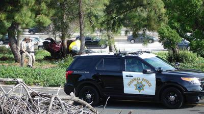 Fatality reported after car crashes into tree on Angeles Crest Highway