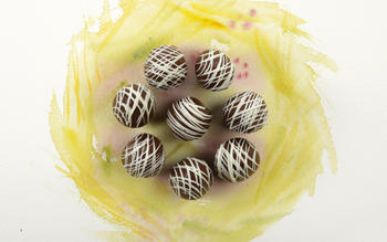 Chocolate creme eggs