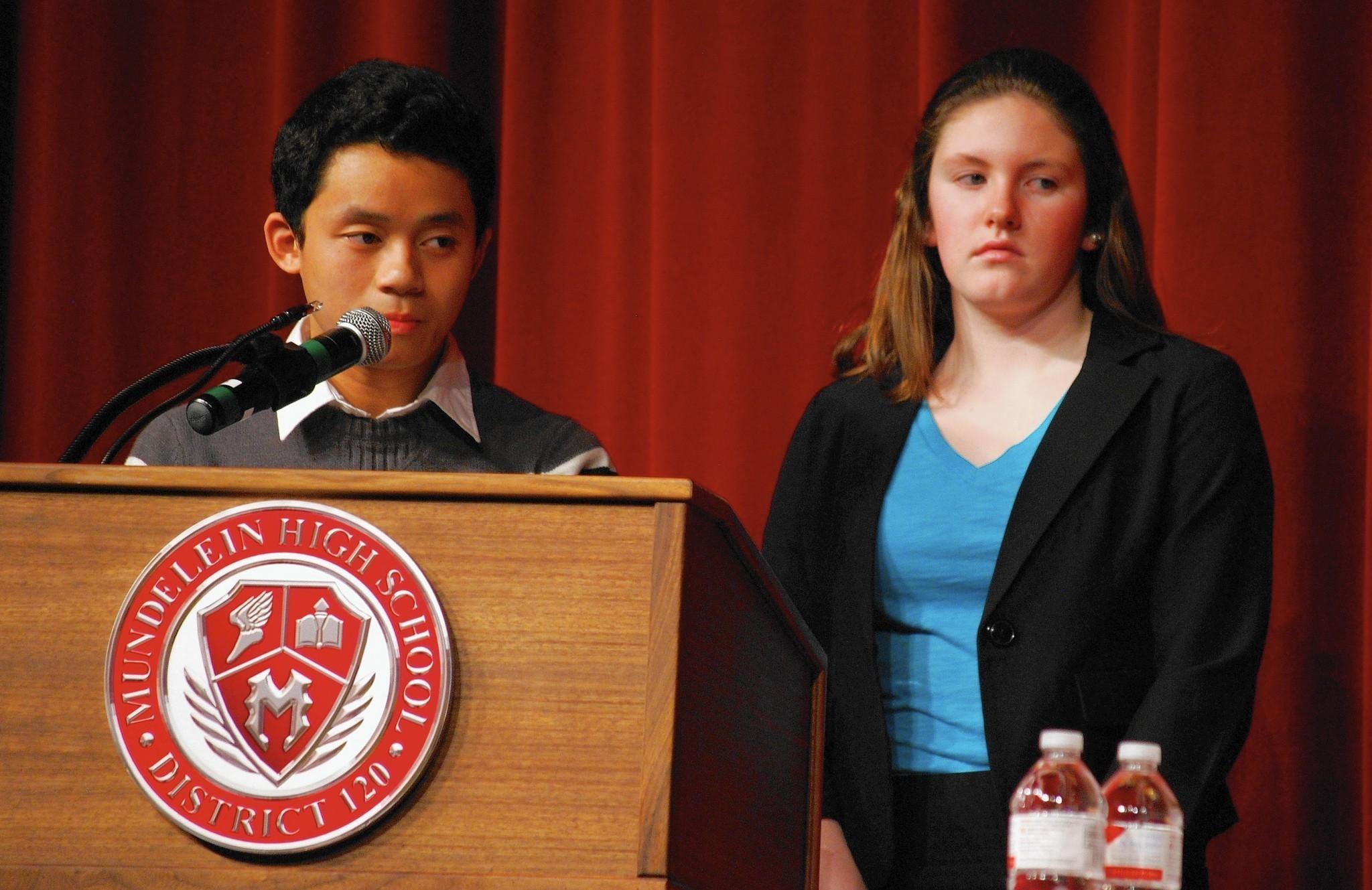 Mundelein High School Report Card Mundelein High School Students
