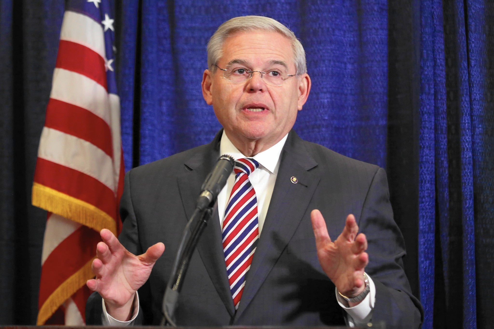 Sen. Robert Menendez, indicted on federal charges, still popular in hometown