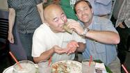 Diner orders the 'Juan Millionth Taco' at Los Gringos Locos