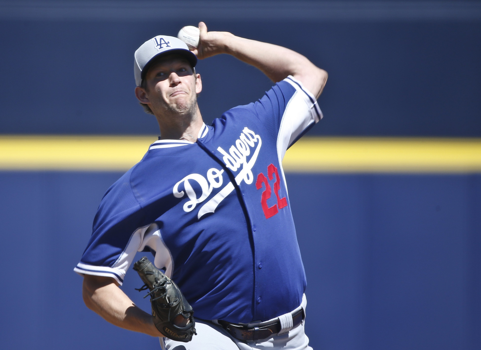Clayton Kershaw finishes a sharp spring for the Dodgers