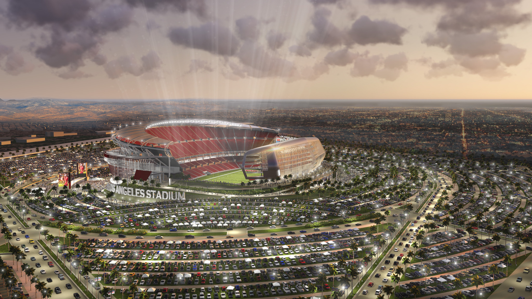Carson Nfl Stadium Plan Report Projects 500 Million