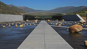 A new winery by Chilean architect Smiljan Radic channels nature's raw power.