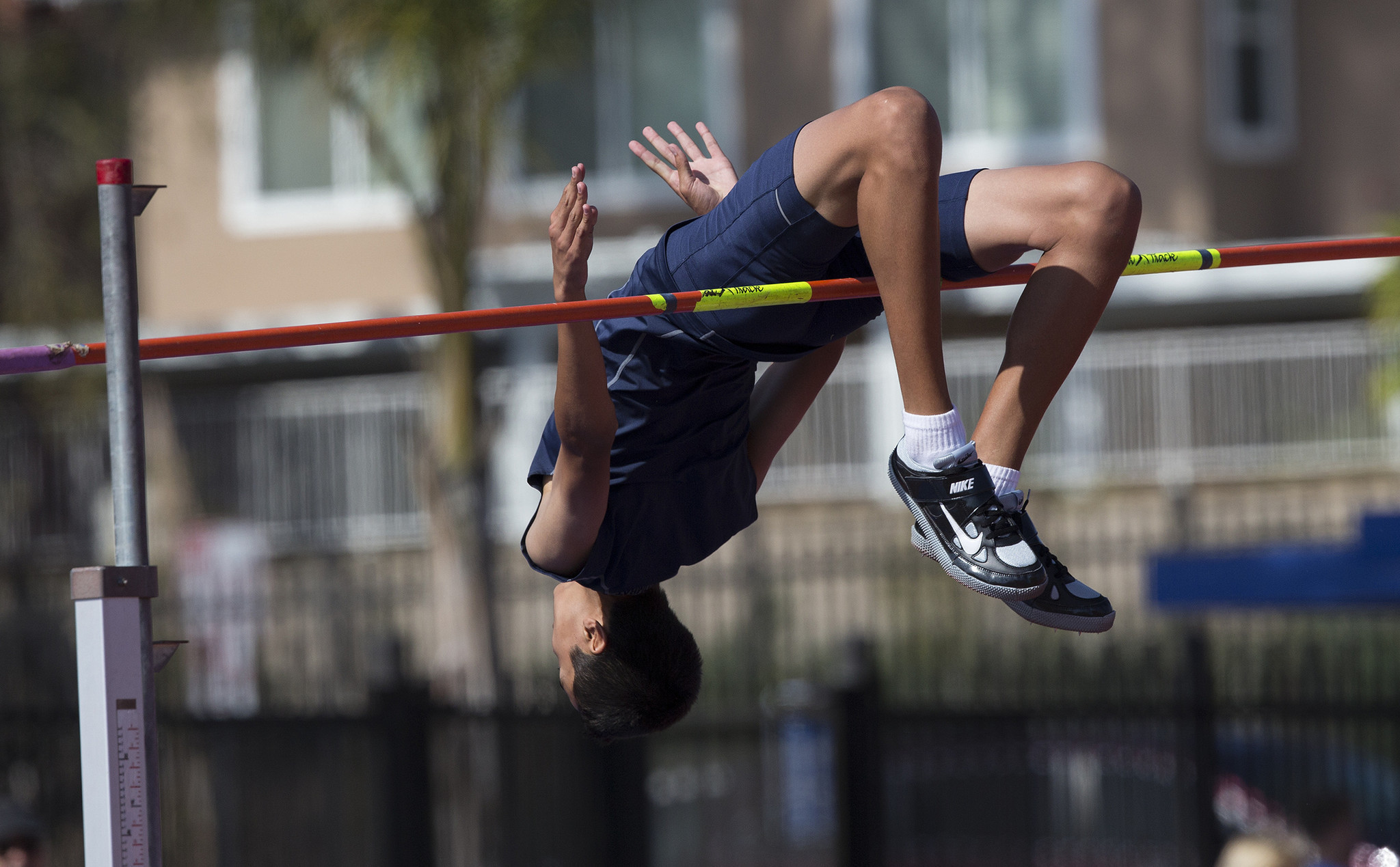 High Schools For high jumper Sean Lee the sky s the limit