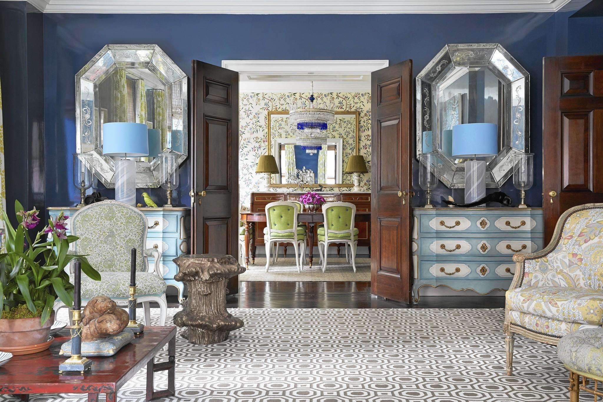 the exuberant interiors of markham roberts chicago tribune rh chicagotribune com