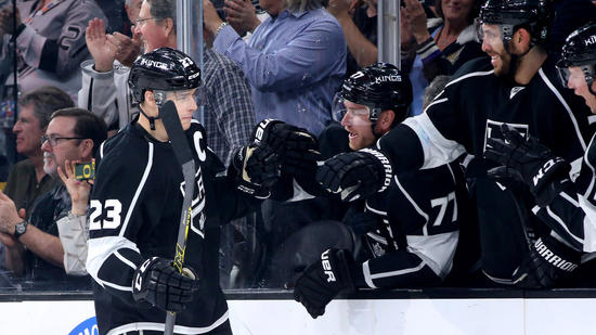 Kings Rout Edmonton, 8-2, And Roll Right Back Into A Playoff Spot