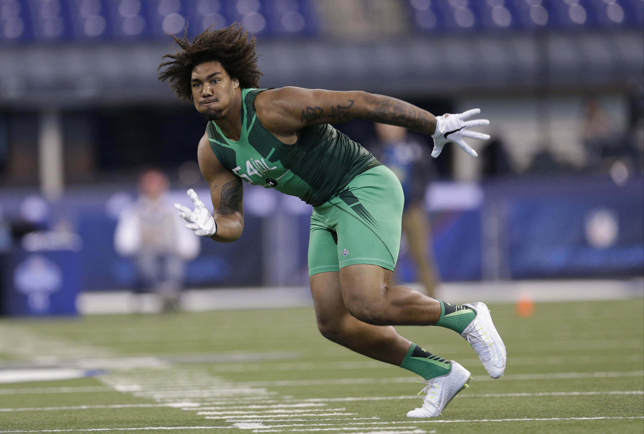 Leonard Williams remains a presence at USC in run up to NFL draft