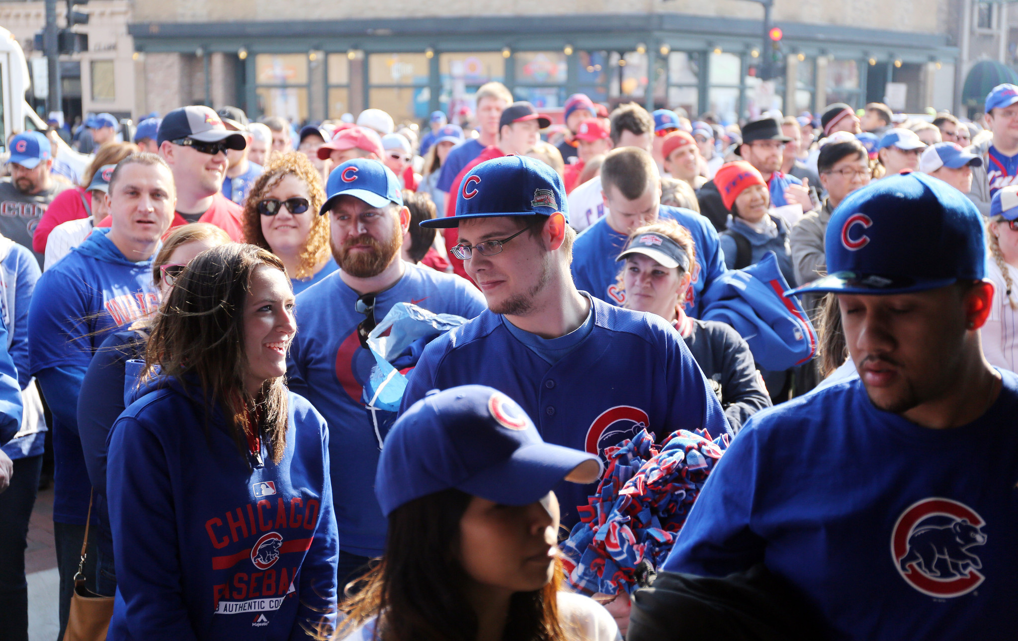 Cubs fans gear up for home opener - Chicago Tribune