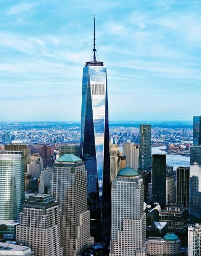 One World Observatory Atop New World Trade Center To Open