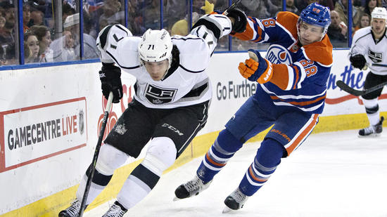 Kings Fall To Edmonton Oilers, 4-2, And Playoff Hopes Flicker