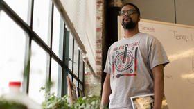 Moveable Feast's Jermaine Peterson passes along his knowledge to help the unemployed get jobs
