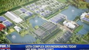 USTA complex groundbreaking in Lake Nona