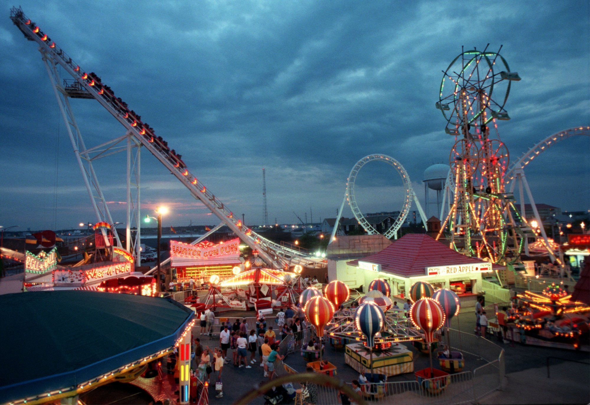 Ocean City Maryland Carnival Rides