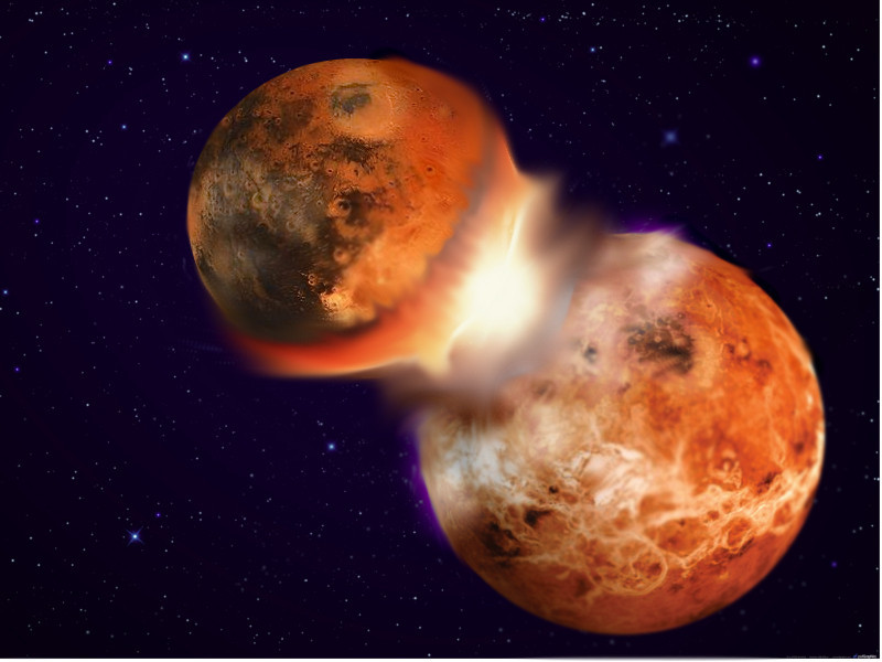 New Analysis May Explain Why The Earth And The Moon Are So