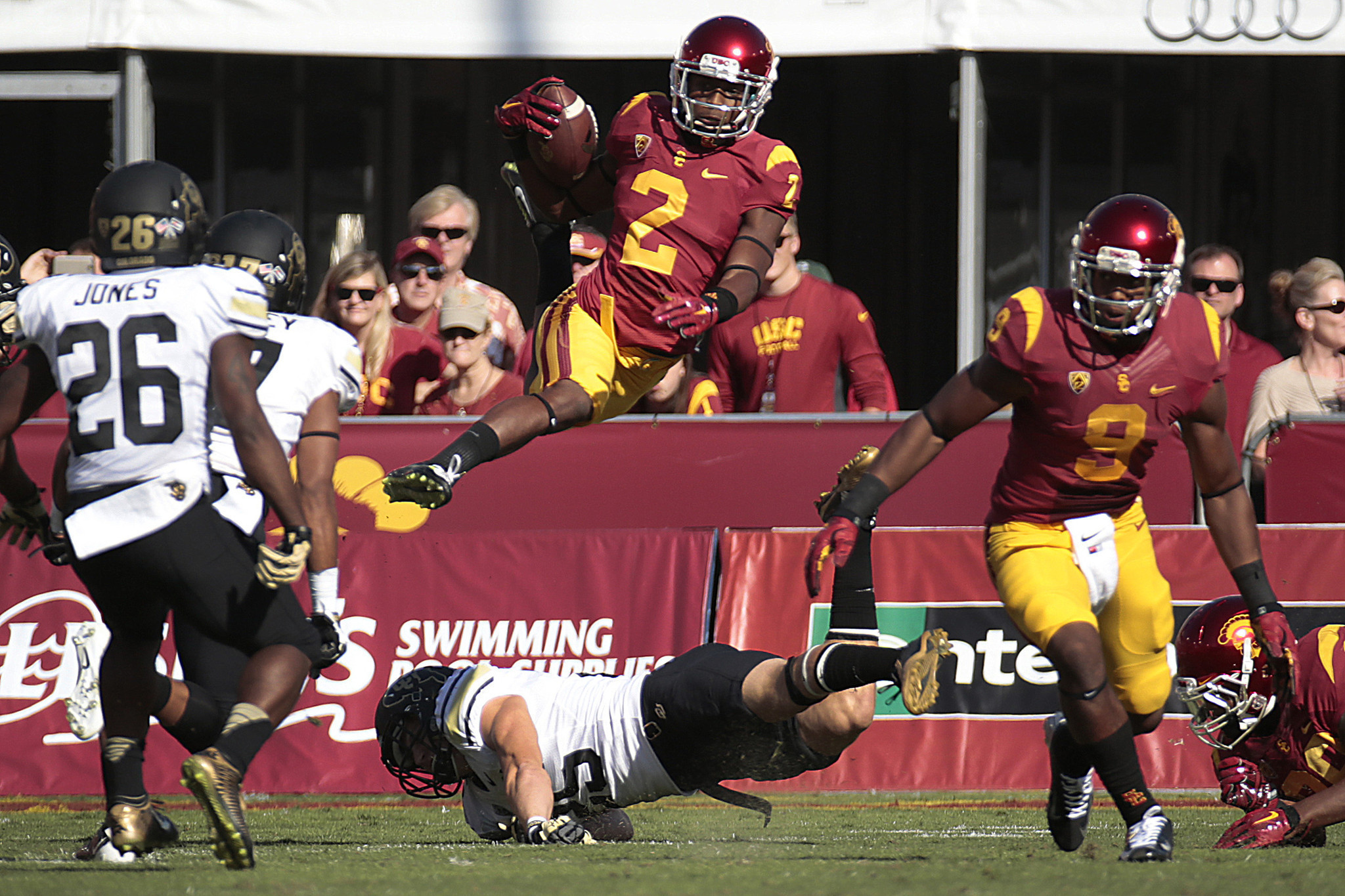 USC's Adoree Jackson expects to add punt returner to his ...